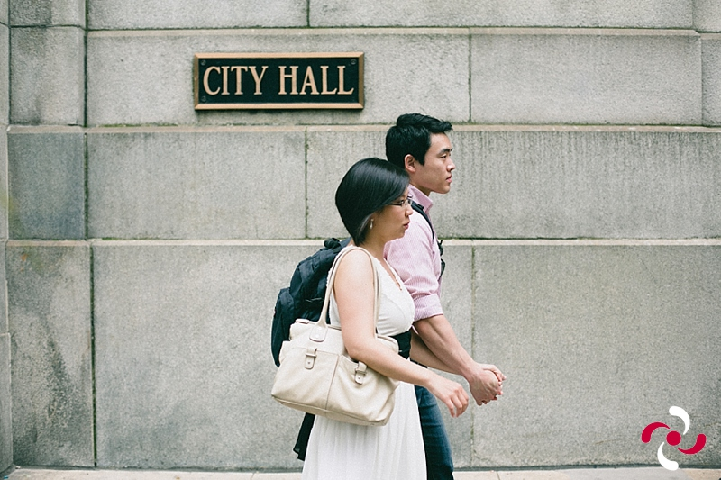 {Kristie+Jun: A Courthouse wedding}