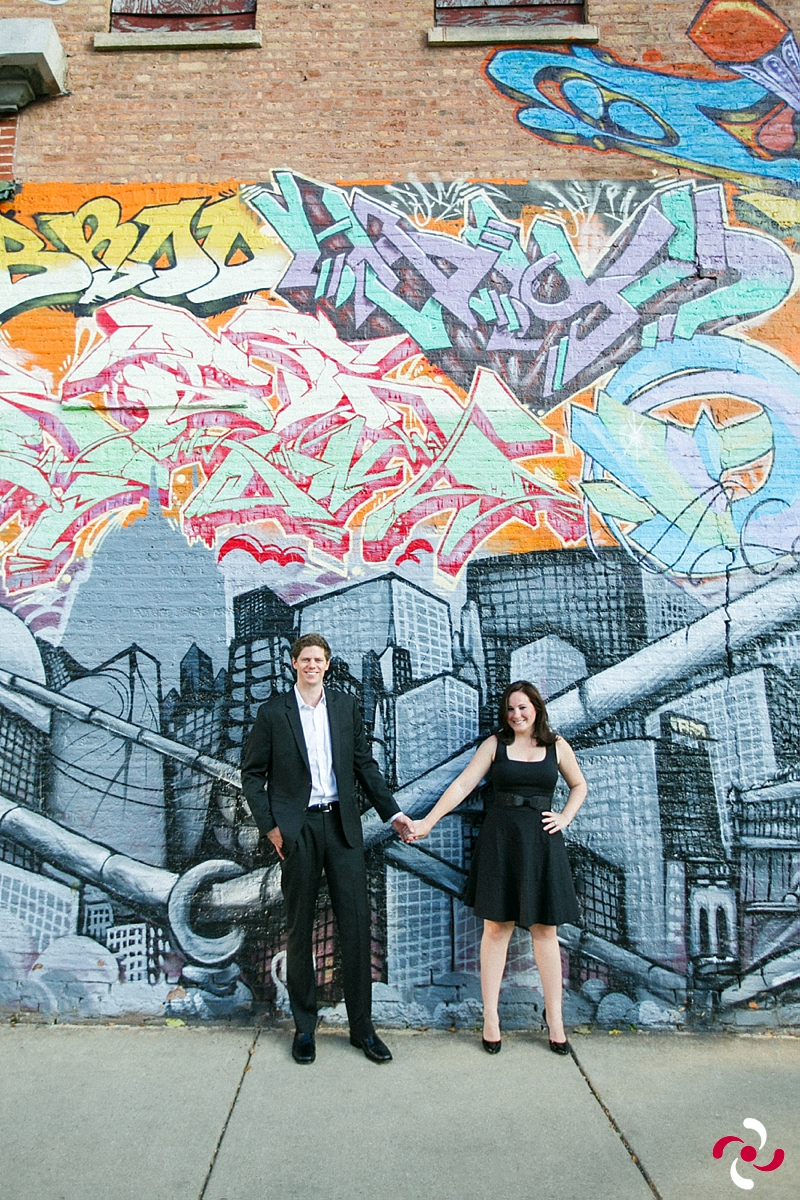 {Lauren+Parker: A Chicago Engagement}