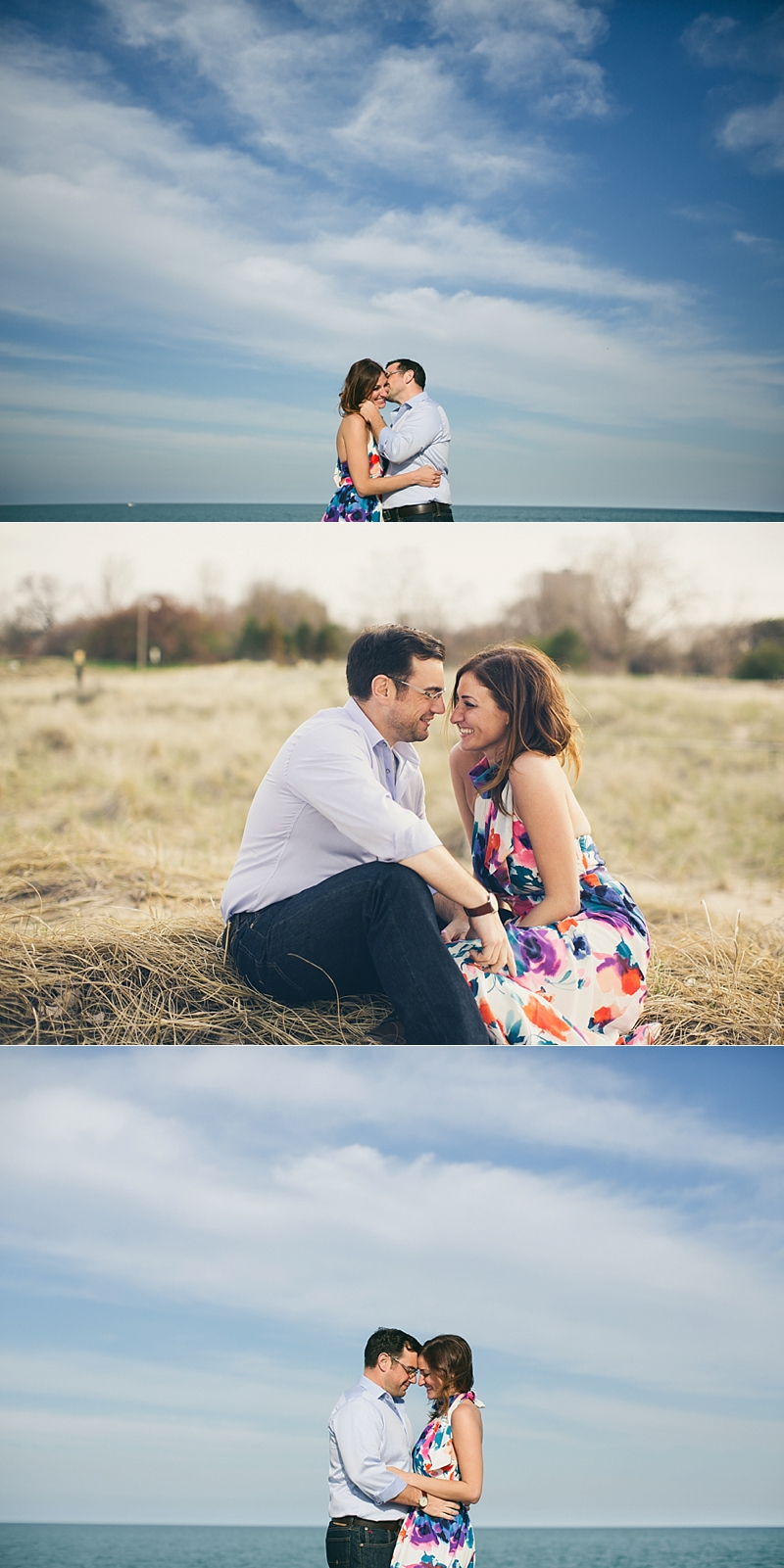 Chicago Spring Engagement Montrose Harbor- 016