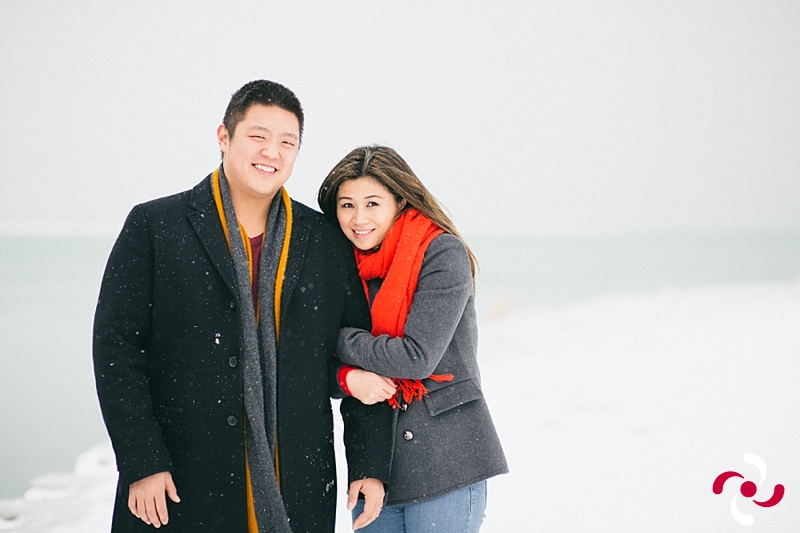 {Yiming and Justin: A Snowy Engagement}