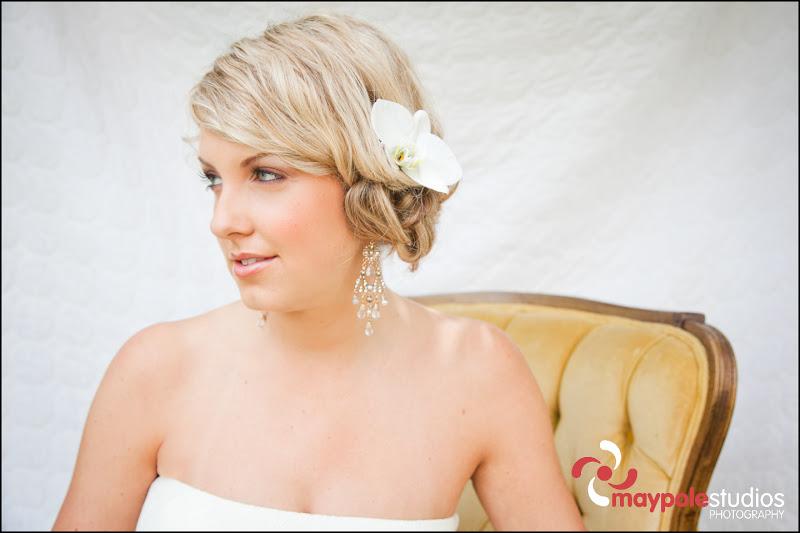 Bridal hair/makeup dream team!