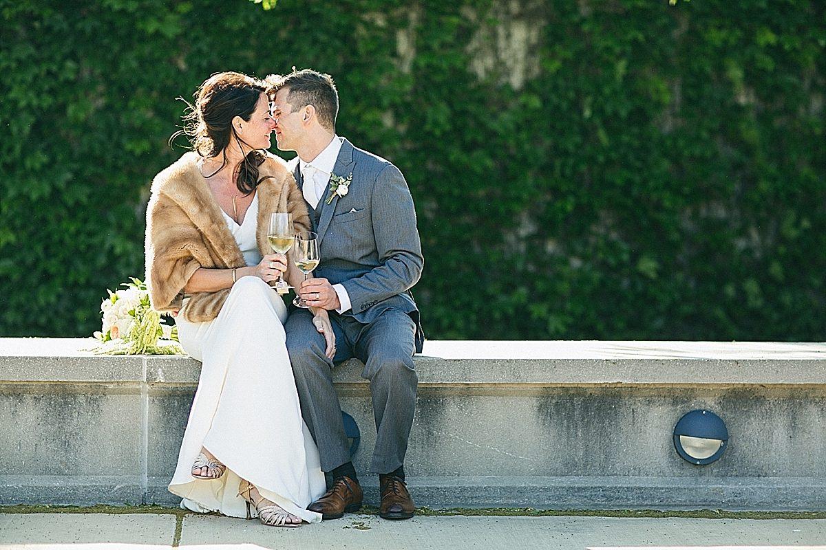 {Tonya + Nik: Married at 63rd Street Beach House}